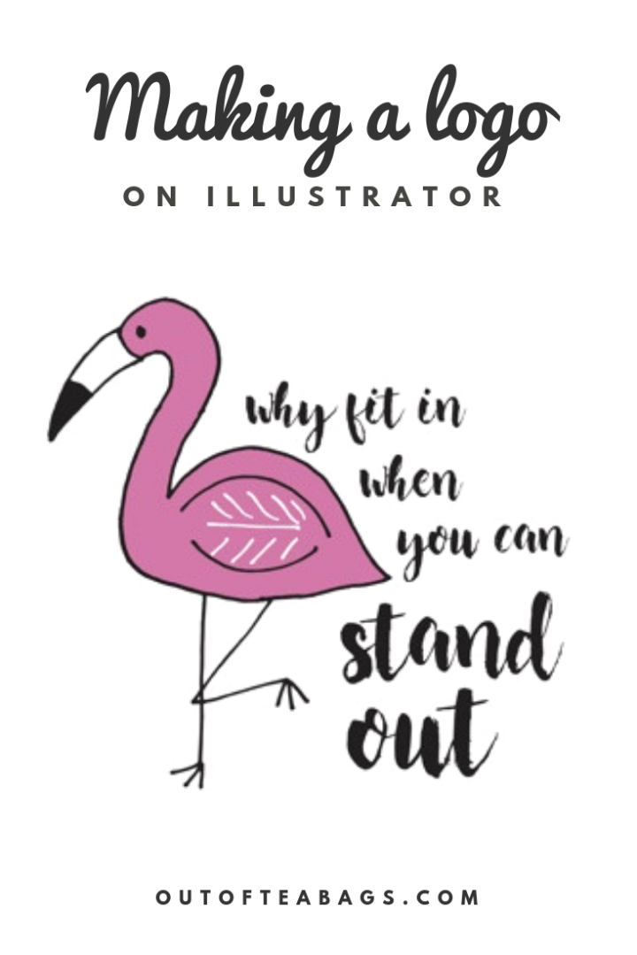 How to make a logo/print on Illustrator